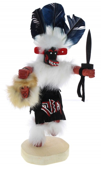 Native American Navajo Priest Killer Kachina Doll KX74716