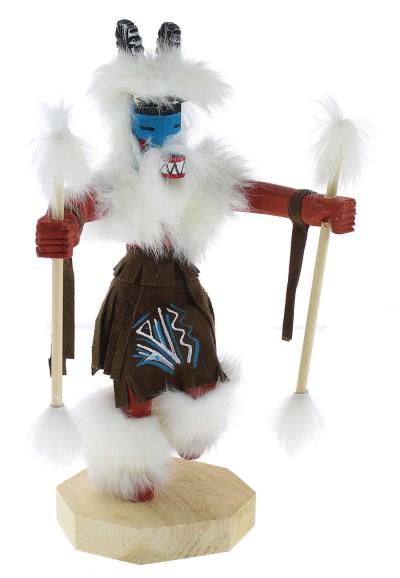 Native American Navajo Ram Kachina Doll KX74577