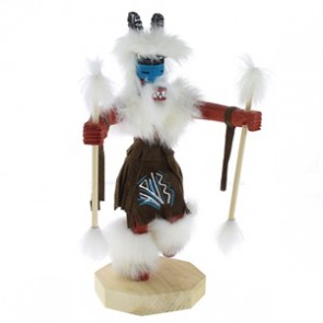 Native American Navajo Ram Kachina Doll KX74577