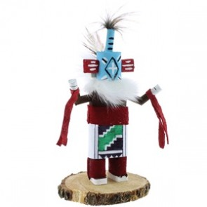 Chasing Star Native American Navajo Kachina Doll NX99416
