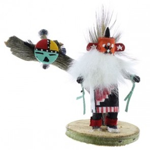 Starhead Navajo Indian Kachina Doll NX99423