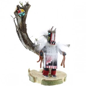 Native American Navajo Indian Badger Kachina Doll NX99428