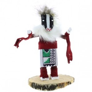 Navajo Native American Navajo Badger Kachina Doll NX99404