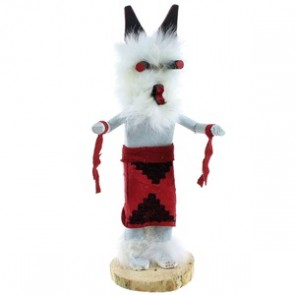 American Indian Navajo Indian Wolf Kachina Doll NX99438