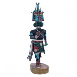 Hemis (Home) Hopi Kachina Doll Native American Joe Duwyenie NX103594