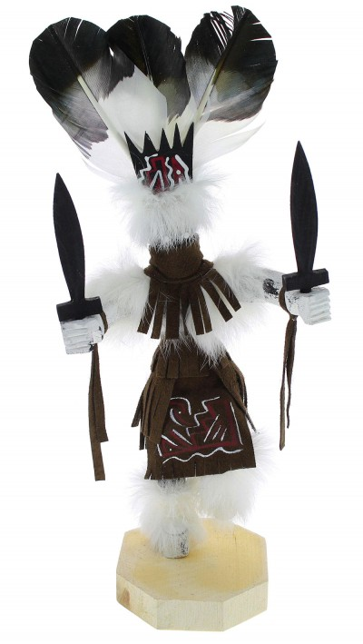 Native American Navajo Apache Dancer Kachina Doll KX74606