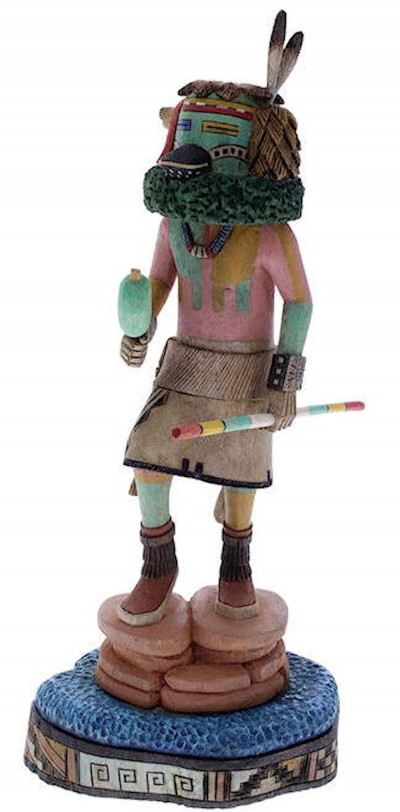 Hopi Pawik or Duck Kachina Doll by artist Woody Sewemaenewa KX40126