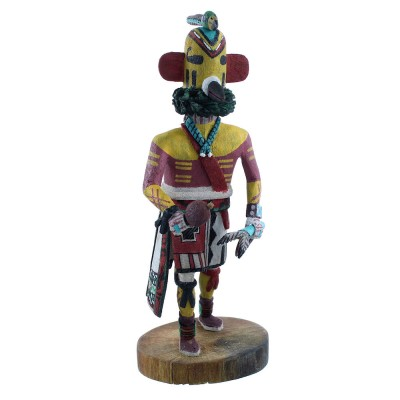 Tocha Or Hummingbird Hopi Kachina Doll By Joseph Duwyenie RX104141