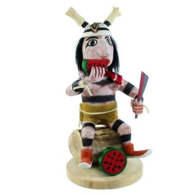 Native American Clown Navajo Kachina Doll SX107051