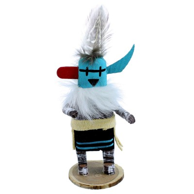 Native American Longhorn Navajo Kachina Doll SX108179