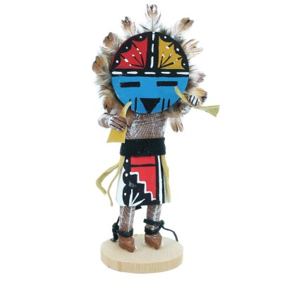 American Indian Sunface Navajo Kachina Doll RX109083