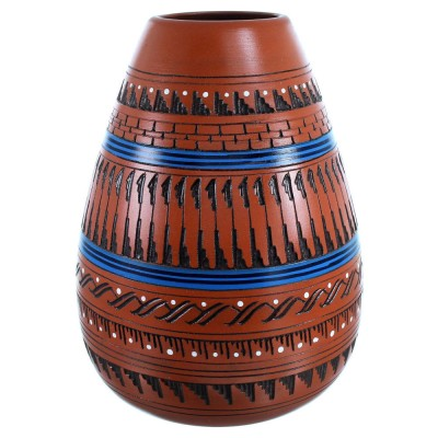 Hand Crafted Navajo Pottery By Artist Ernest Watchman SX11086