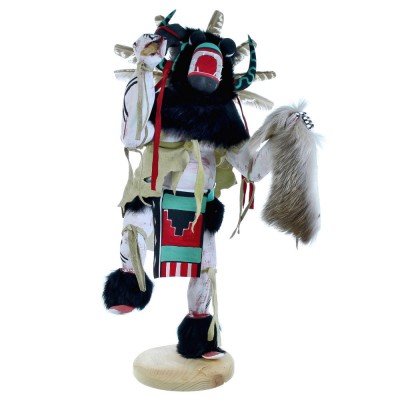 Navajo Black Ogre Kachina Doll SX115360
