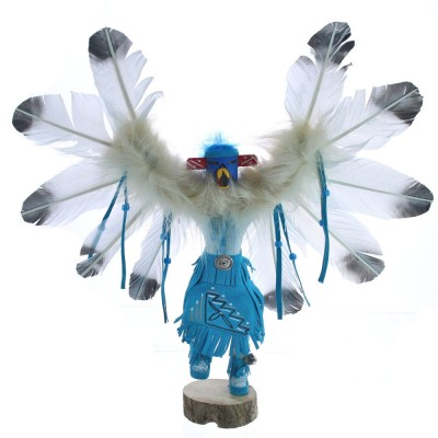 Eagle Native American Hand Crafted Kachina Doll BX119865