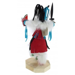 Navajo Native American Clown Kachina Doll KX74542