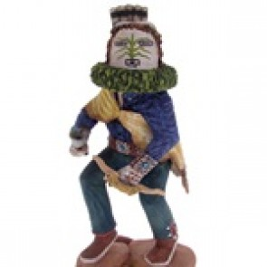 Hopi Grandfather Kachina Doll Woody Sewemaenewa KS67153