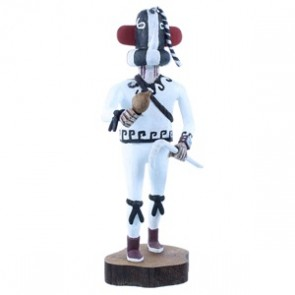 Kokopelli Hopi Kachina Doll Native American Joe Duwyenie NX103715
