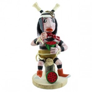 Native American Navajo Clown Kachina Doll SX107050