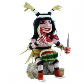 Clown Authentic Navajo Kachina Doll SX107052