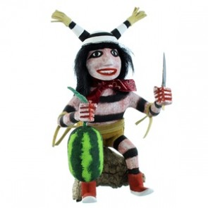 Native American Navajo Clown Kachina Doll SX107053