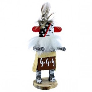Native American Warrior Navajo Kachina Doll SX108150
