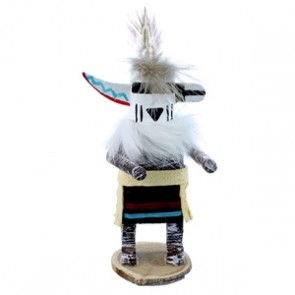 Zuni Rain Priest Navajo Indian Kachina Doll SX108154
