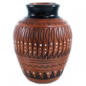 Navajo Pot Hand Crafted By Artist Shelly Watchman SX110366