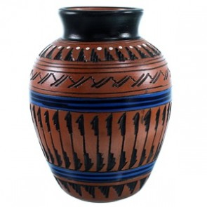Navajo Pot Hand Crafted By Artist Ernest Watchman SX110368