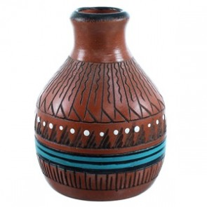 Navajo Pot Hand Crafted By Artist Shyla Watchman SX110390