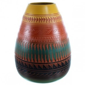 Navajo Pot Hand Crafted By Artist Derrick Watchman SX111134