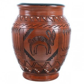Hand Crafted Rabbit Pot By Navajo Artist Shyla Watchman SX111708