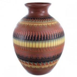Hand Crafted Navajo Pottery By Shyla Watchman SX112088