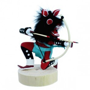 Navajo Red Wolf Kachina Doll SX112169