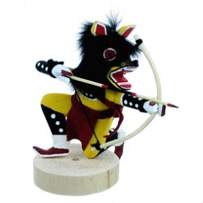 Yellow Wolf Navajo Indian Kachina Doll SX112168
