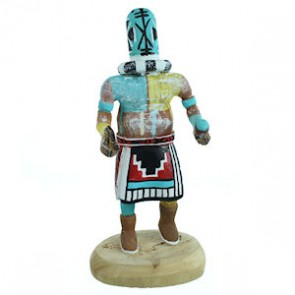 Native American Rattle Navajo Kachina Doll SX112217