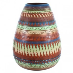 Hand Crafted Navajo Pot By Artist Shyla Watchman SX112274