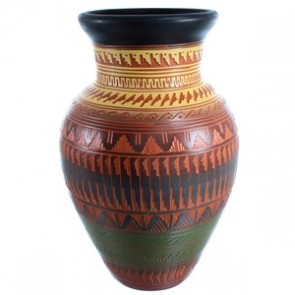 Hand Crafted Navajo Pottery By Ernest Watchman SX113304