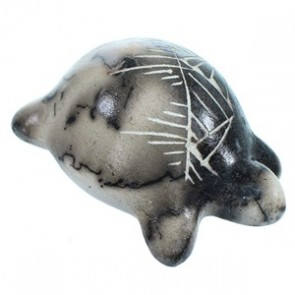 Horse Hair Hand Crafted Navajo Miniature Turtle Pot By Marilena Sam SX113378