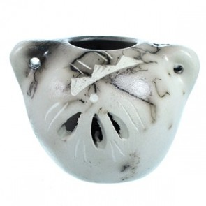 Navajo Horse Hair Miniature Pot Hand Crafted By Artist Vail SX13463
