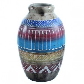 Hand Crafted Horse Hair Navajo Pot By Artist Whitegoat SX115489