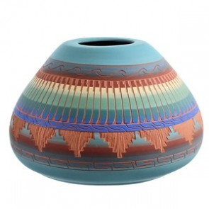 Navajo Pottery Hand Crafted By Artist Joann Johnson SX115417