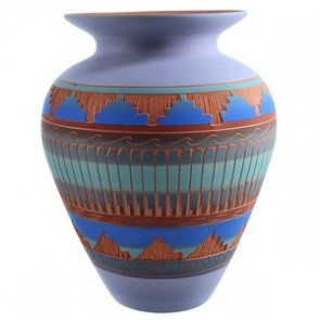 Navajo Hand Crafted Pottery By Artist Joann Johnson SX115415