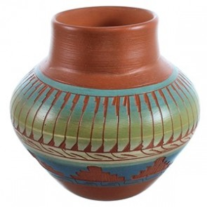 Hand Crafted American Indian Pot BX116585