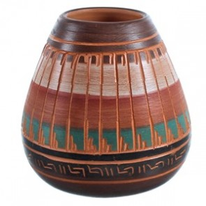 Hand Crafted American Indian Pot BX116589