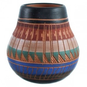 Hand Crafted Navajo Pot BX116564