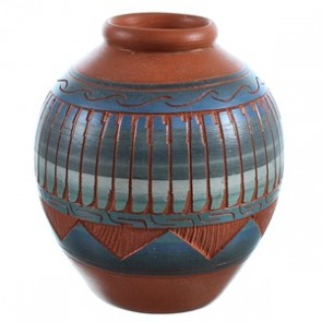 Hand Crafted Navajo Pot BX116558