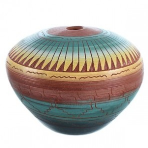 Hand Crafted Navajo Pot BX116591