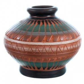 Hand Crafted Navajo Pot BX116554