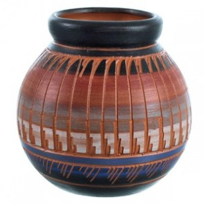 Hand Crafted Native American Pot BX116561