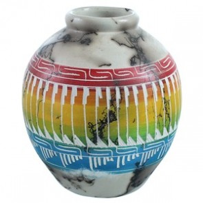 Hand Crafted Horse Hair American Indian Pot ZX116605